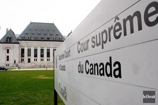La Cour suprême du Canada a accepté d'entendre en appel une affaire qui oppose... (Photo Etienne Ranger, arhives LeDroit)