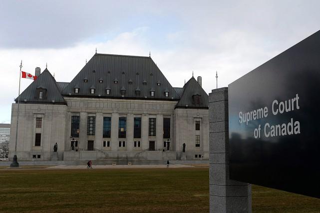 La Cour suprême du Canada a annoncé, jeudi, qu'elle entendra la requête en... (Photo Sean Kilpatrick, archives PC)