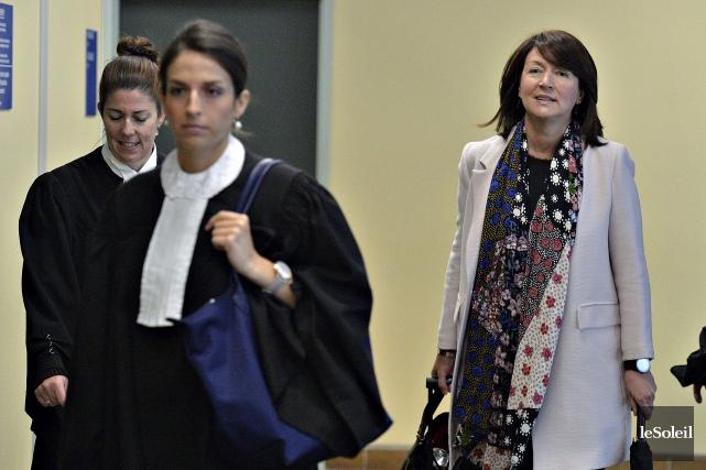Nathalie Normandeau est de retour au palais de... (Le Soleil, Patrice Laroche)