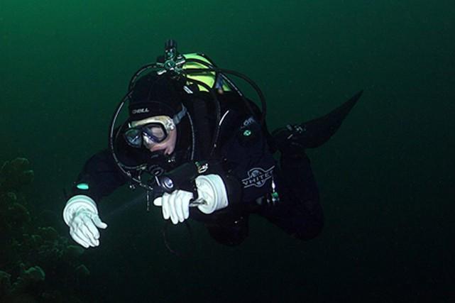 Des plongeurs pensent avoir découvert une épave vieille de 300ans au large de... (Photo Lee Newman, CoolDives.ca, archives PC)