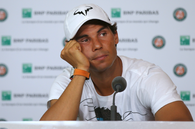 Rafael Nadal... (Photo Michel Euler, AP)