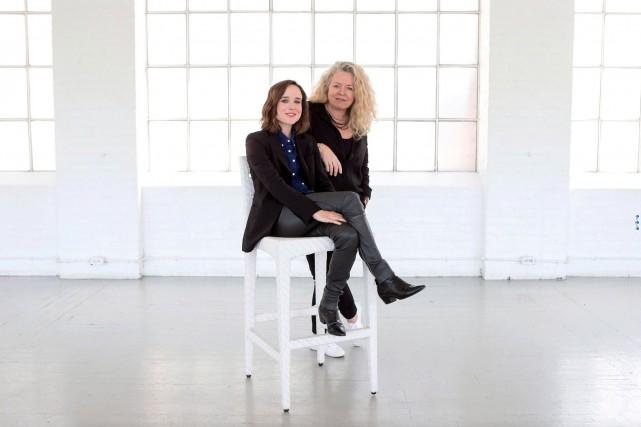 L'actrice Ellen Page et la réalisatrice Patricia Rozema,... (La Presse Canadienne, Chris Young)
