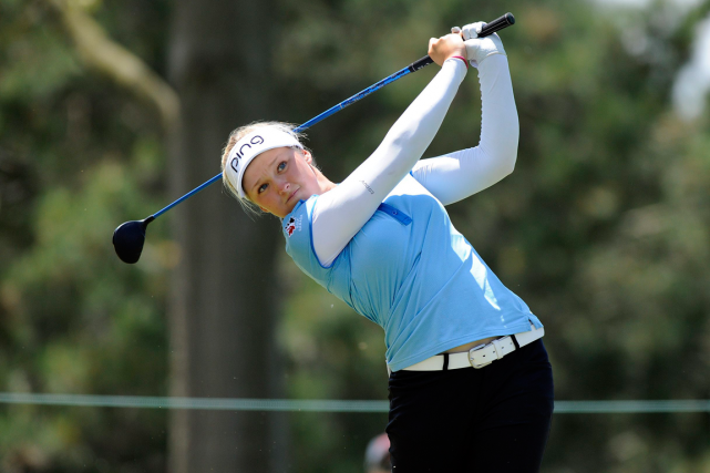 Brooke Henderson... (Photo Jose Juarez, archives AP)