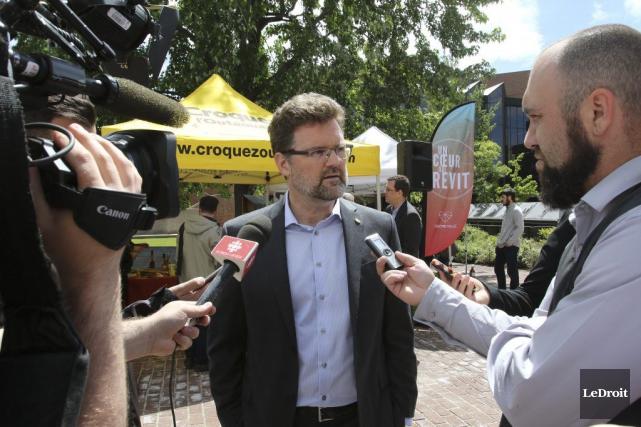 Le maire de Gatineau estime qu'il a multiplié... (Patrick Woodbury, LeDroit)