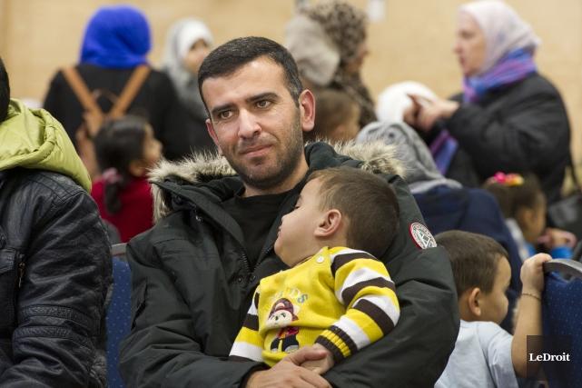 La venue au pays de 25 000 réfugiés... (Archives Le Droit)