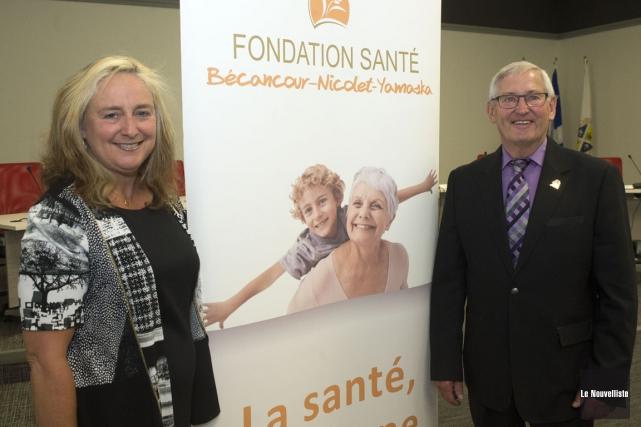 La directrice générale de la Fondation Santé Bécancour-Nicolet-Yamaska,... (Stéphane Lessard, Le Nouvelliste)