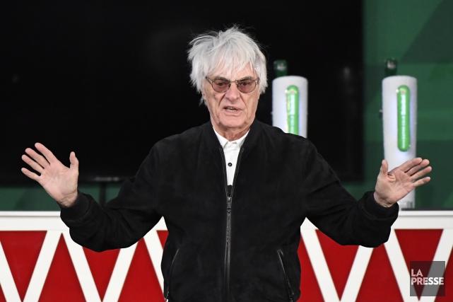 Le patron de Formula One Management, Bernie Ecclestone,... (La Presse, Bernard Breault)