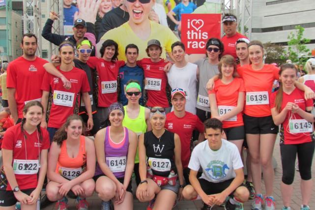 Des élèves de l'école La Découverte ont couru un demi-marathon
