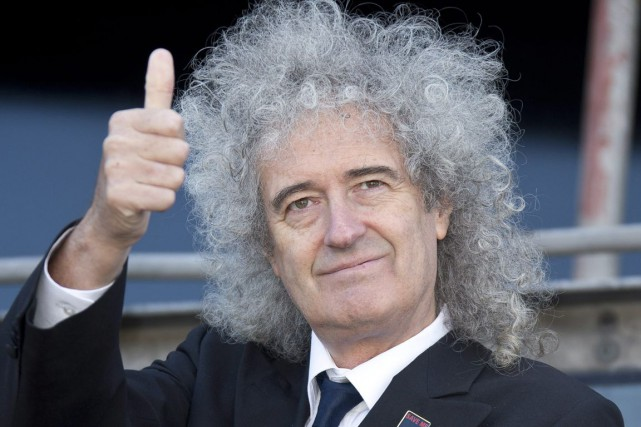 Brian May, guitariste du groupe Queen... (Archives AP)
