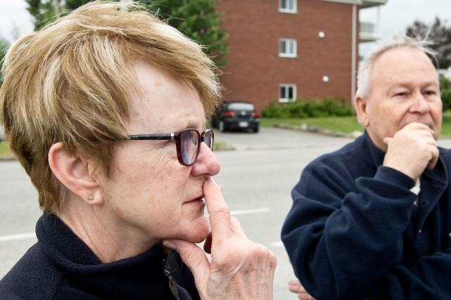 Claire Bilodeau et son mari Gilles sont les... (Spectre Média, Jessica Garneau)