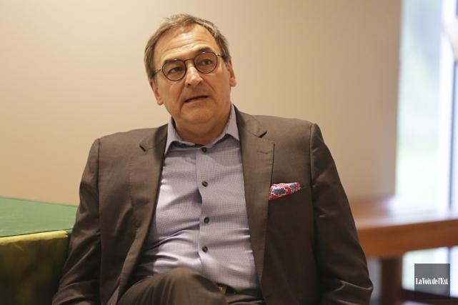 Le propriétaire de Groupe Capitales Médias, Martin Cauchon,... (Catherine Trudeau, La Voix de l'Est)