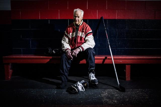 La couverture du livre Mr Hockey... (Photothèque La Presse, PC/Horton Neue Studios)