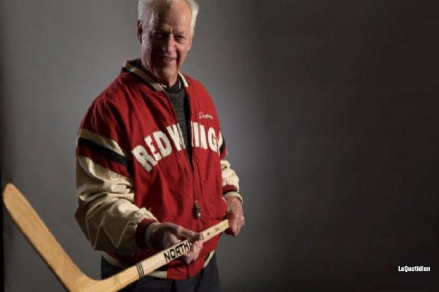 Le légendaire hockeyeur Gordie Howe s'éteint à l'âge... ((Archives Le Quotidien))