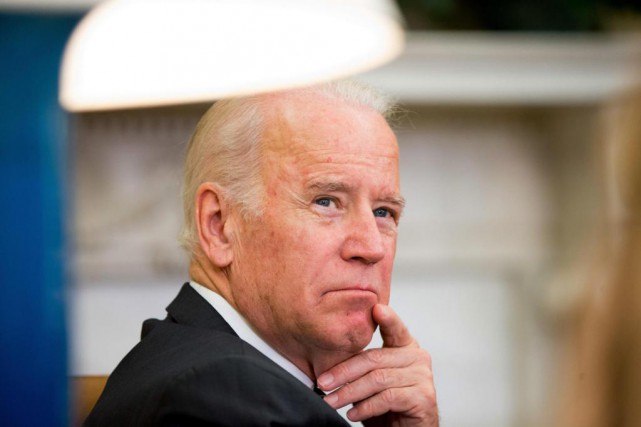 Le vice-président américain Joe Biden a fait parvenir... (PHOTO ANDREW HARNIK, ARCHIVES ASSOCIATED PRESS)
