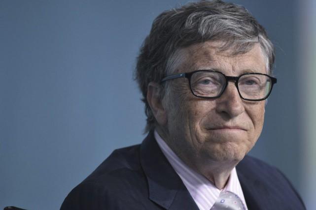 Bill Gates... (PHOTO MANDEL NGAN, AFP)
