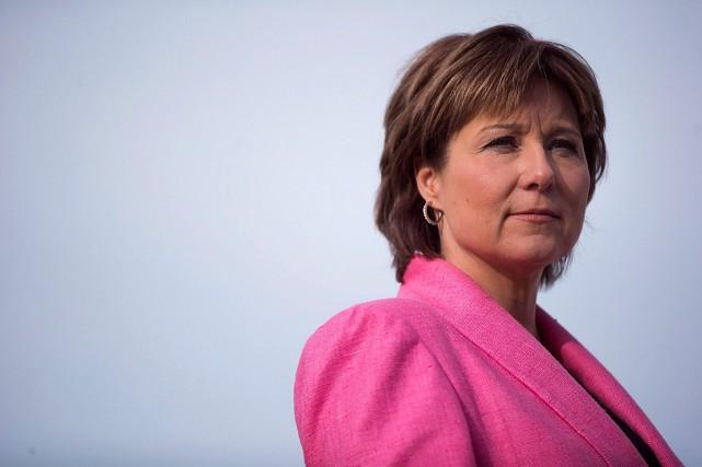 La première ministre de la Colombie-Britannique, Christy Clark.... (Photo Darryl Dyck, archives PC)