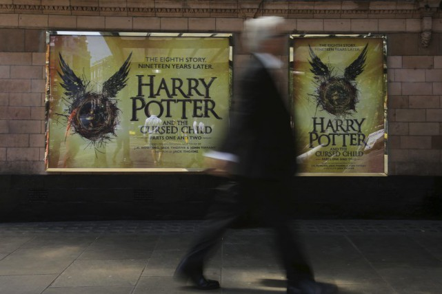 La pièce Harry Potter and the Cursed Child sera présentée... (PHOTO DANIEL LEAL-OLIVAS, AFP)