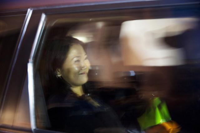 La candidate malheureuse à la présidentielle péruvienneKeiko Fujimori.... (PHOTO Rodrigo Abd, AP)