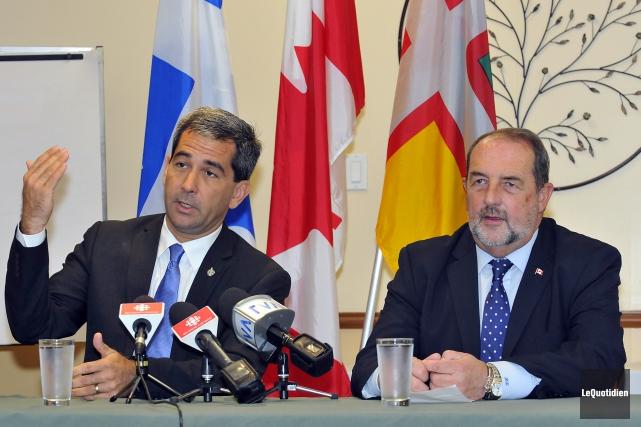 Pierre Paul-Hus, député de Charlesbourg et porte-parole de... ((Photo Le Quotidien, Rocket Lavoie))