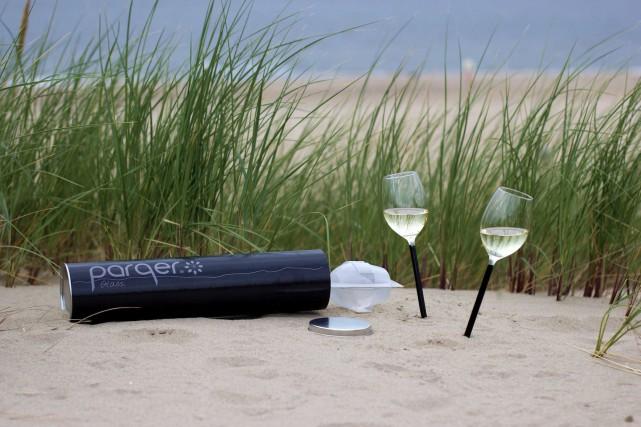 Les verres à vin et le plein air ne font pas bon ménage. (Photo Florent Gatin)
