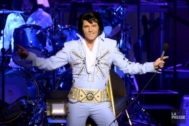 «Créer l'illusion». Tel est l'objectif d'Elvis Experience, que... (Bernard Brault, Archives La Presse)