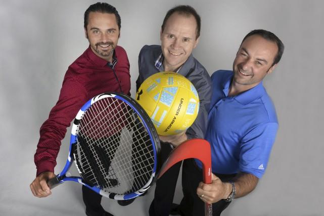 Les instigateurs du tournoi multisports On se fend... (Spectre Média, Maxime Picard)