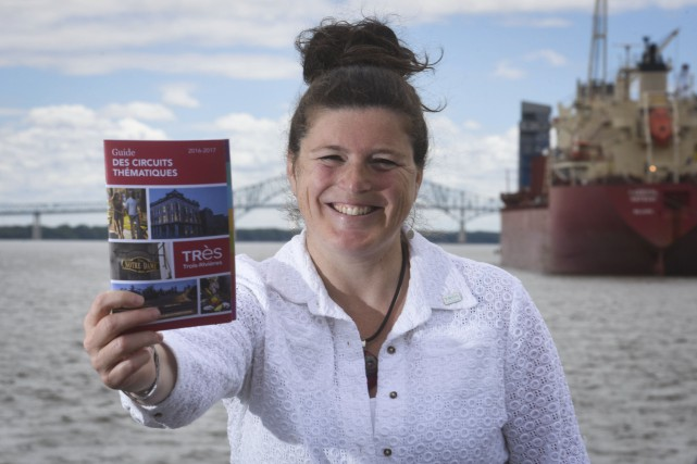La directrice du tourisme chez IDE Trois-Rivières, Yolaine... (François Gervais)