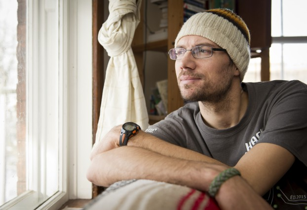 Le cycliste Kristian Benoît, qui a subi de... (Spectre Média, Jessica Garneau)