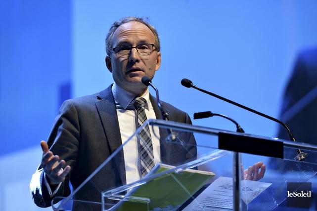 Le ministre Coiteux a dit que son projet... (Patrice Laroche, Archives Le Soleil)