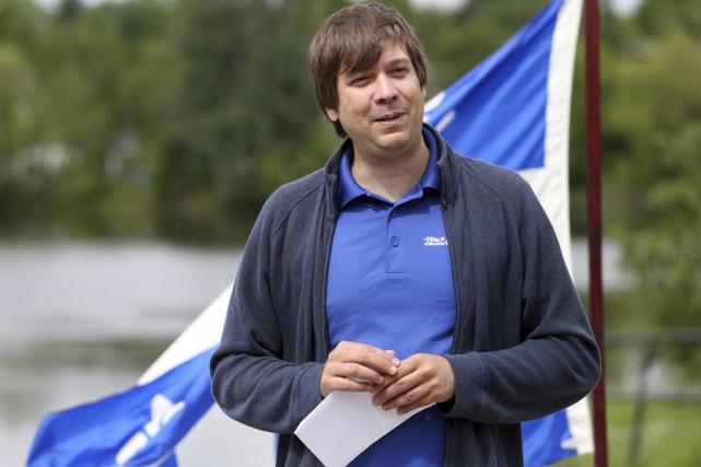 Le coordonnateur de la Fête nationale à Granby,... (Christophe Boisseau-Dion)