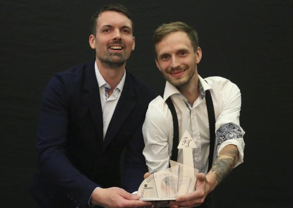 Marc-André Ayotte et Michaël Martineau de la microbrasserie... (Audrey Tremblay)
