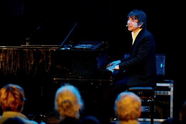 Thomas Fersen a captivé le public réuni vendredi... (Michel Pinault)
