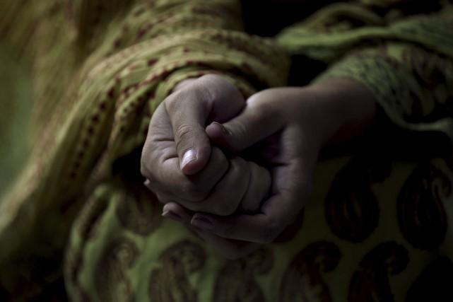 Sadaf Mehmood est l'une des nombreuses Indiennes musulmanes... (Agence France-Presse)