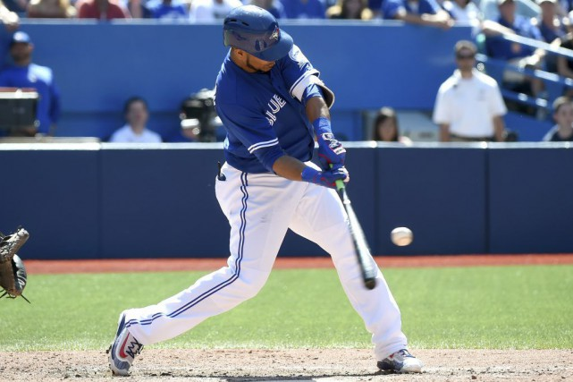 Edwin Encarnacion... (PHOTO Dan Hamilton, USA TODAY Sports)