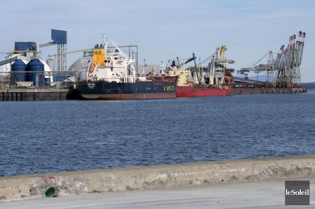 Le Port de Québec... (Photothèque Le Soleil, Jean-Marie Villeneuve)
