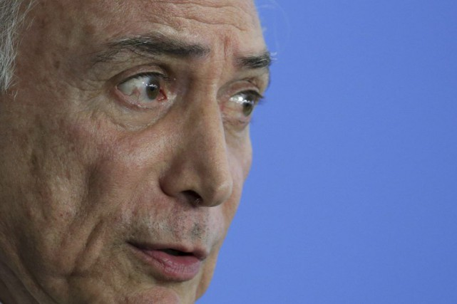 Michel Temer a été accusé de trahison par... (Photo Eraldo Peres, archives AP)