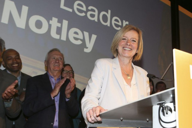 Rachel Notley... (PHOTO Mike Ridewood, PC)