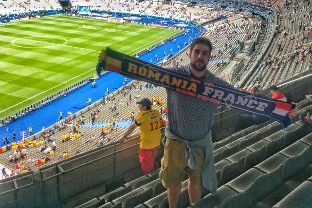 Jean-David Pozzi passe une semaine en France dans... (Photo courtoisie)