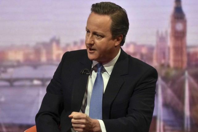 David Cameron... (Photo BBC/Reuters)