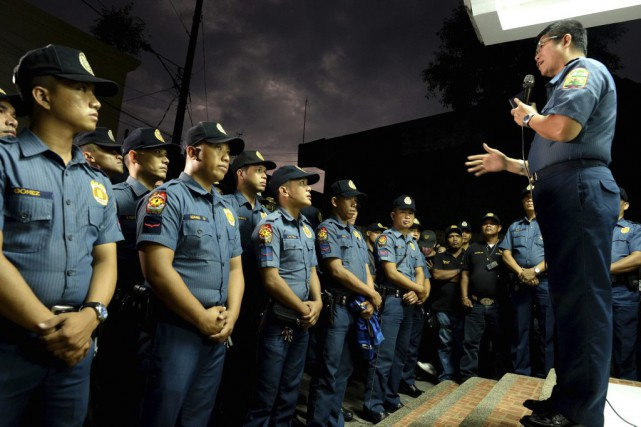 La police a annoncé avoir tué plus de... (PHOTO NOEL CELIS, AGENCE FRANCE-PRESSE)
