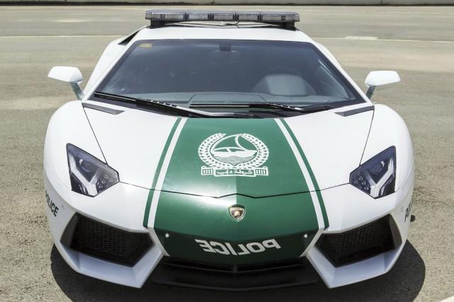 La police de Dubaï dispose de voitures très... (Photo fournie par la police de Dubaï)