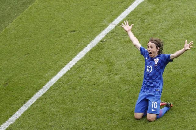 Luka Modrica été le principal artisan de la... (PHOTO FRANÇOIS MORI, AP)