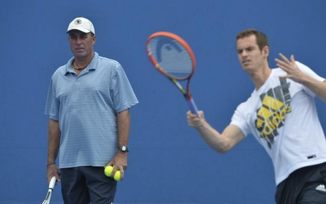 Andy Murray et Ivan Lendl en 2014... (PHOTO PAUL CROCK, ARCHIVES AFP)