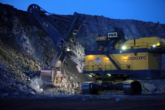 Les producteurs de fer québécois doivent trimer dur... (fournie par Rio Tinto IOC)