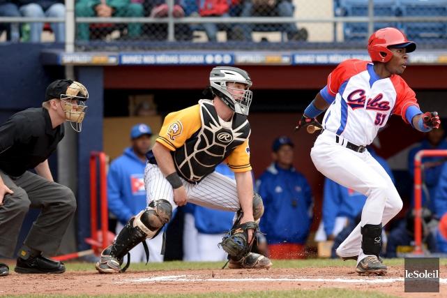 Les Capitales ont servi une leçon de baseball... (Le Soleil, Erick Labbé)