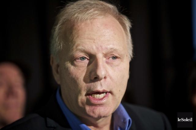 Le candidat à la direction du PQ Jean-François... (Photothèque Le Soleil)