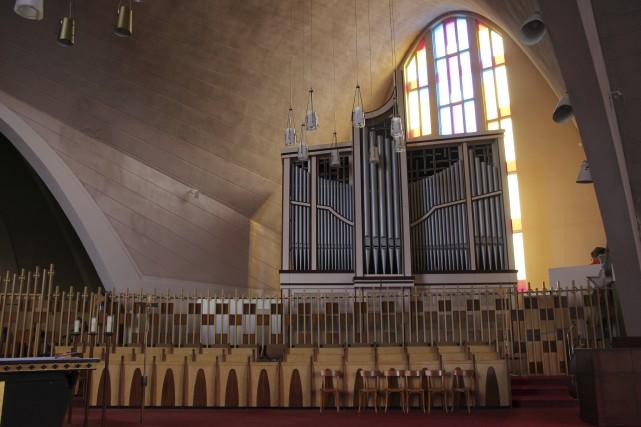 Au terme d'une longue restauration, l'orgue de la...
