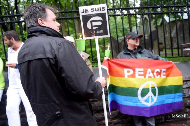 Des appuis à la communauté LGBT ont fusé... (Archives Le Soleil, Erick Labbé)
