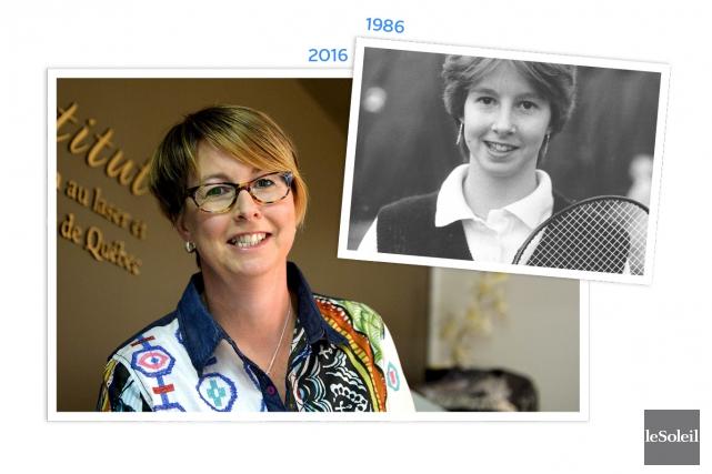 L'ex-joueuse et entraîneure de badminton Marie-Claude Lachance est... (Infographie Le Soleil)