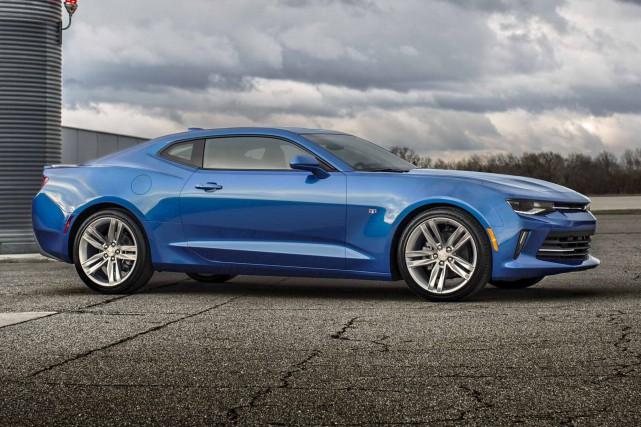 La nouvelle Chevrolet Camaro propose un tout nouveau... (fournie par Chevrolet, Barry Kluczyk)